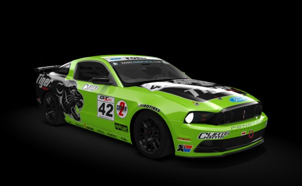 Ford Mustang Boss 302 GT4