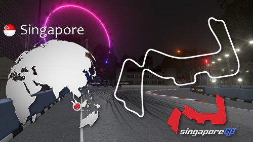 Marina Bay Street Circuit day & night