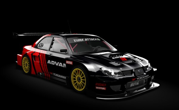 Subaru Impreza Time Attack