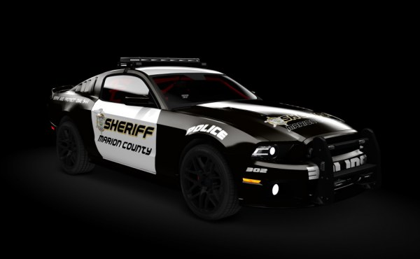 Ford Mustang Boss 302 Police '10