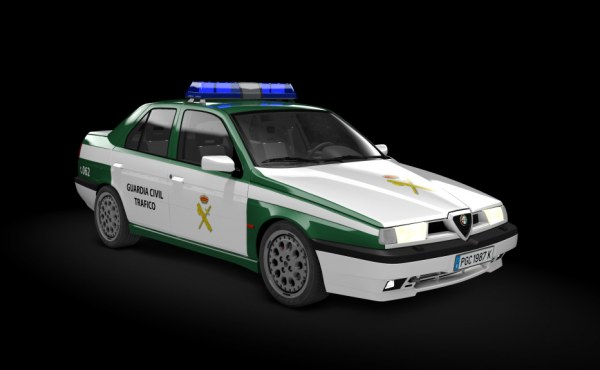 Alfa Romeo 155 Q4 Guardia Civil