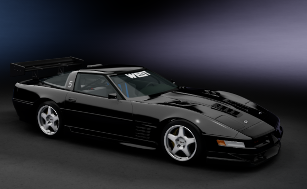 Chevrolet Corvette C4 ZR-1 '90 West